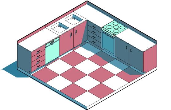 Курс по SketchUP за проектиране на мебели и интериорен дизайн
