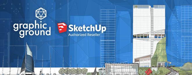 Graphic Ground вече е официален представител на SketchUP за България
